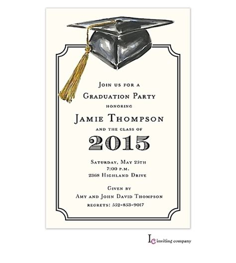 Graduation Party Invitation Template Resume Builder Free Printable Graduation Invitation Templates