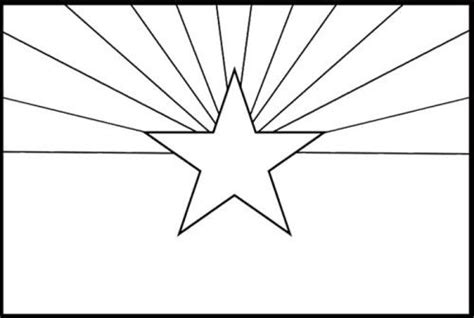 arizona state flags coloring page free kids coloring