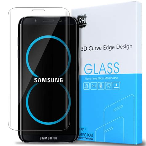samsung galaxy s8 plus anti scratch tempered glass screen protector clear ebay