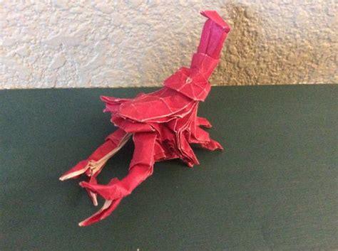 Origami Scorpion Tadashi Mori - tadashi mori scorpion origami yoda