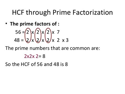 finding prime factors of n and their multiplicities lesson plan multiple and factors ppt v 3