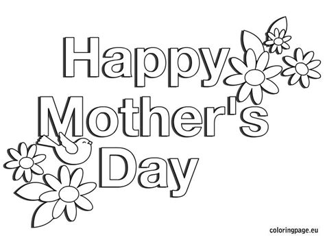 mothers day pictures to color s day coloring pages search coloring