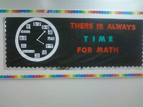 theme definition middle school middle school math bulletin board ideas time for math