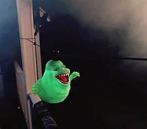 ghostbusters floating slimer decoration