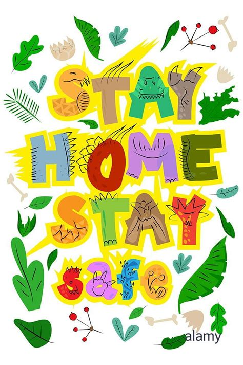 stay home alamy stock photo cards kids background