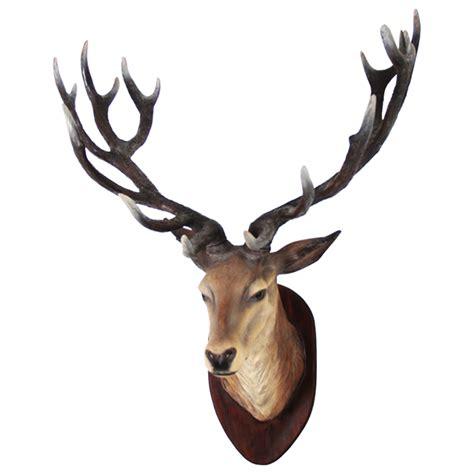 Animal Figurines Home Decor by R 006 Deer Head Protheme Global