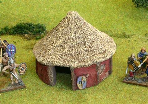 Estimate To Build A House British Celtic Round House B