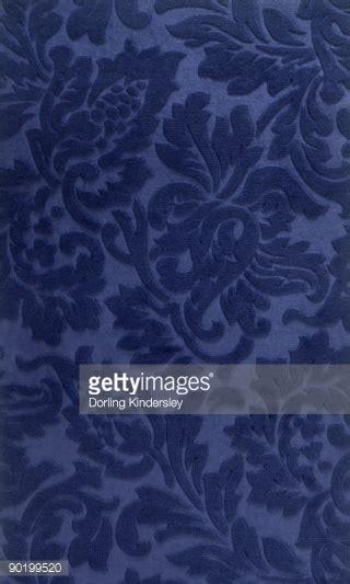 blue pattern velvet victorian style blue velvet floral pattern wallpaper stock