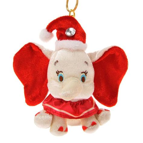 dumbo christmas plush doll key chain disney store japan