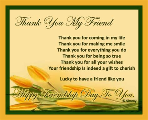 printable thank you for everything cards thank you my friend for everything free thank you ecards