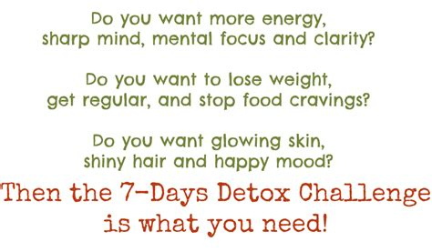 What To Expect When You Detox Your by Mihaela Telecan 7 Days Detox
