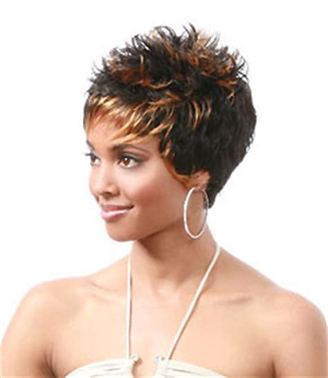 african american spiked wigs african american spikey wigs photo short hairstyle 2013