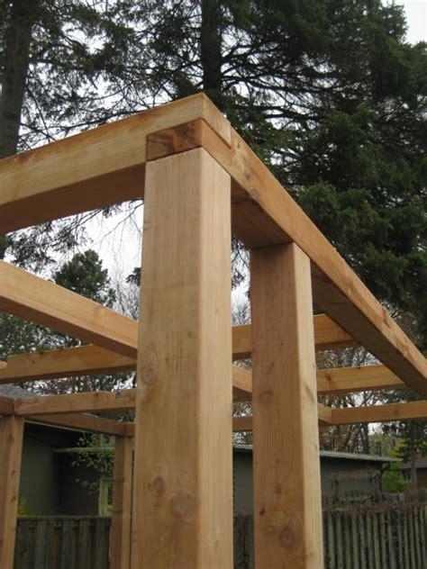 a frame pergola alan medri on quot details timber frame pergola