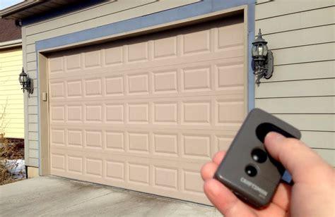 Garage Door Lock Remote by How To Lock A Garage Door Opener Remote