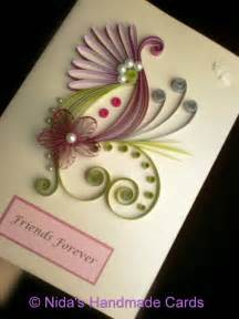 Handmade Quilling Cards - from nida s handmade cards quilling ideas