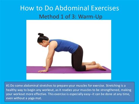 how to do abdominal exercises