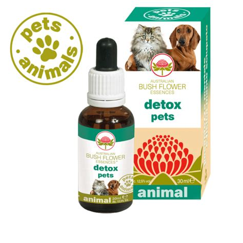 Detoxing From Animal Products by Detox Pets Bush Flower Fiori Australiani