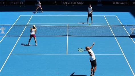 imagenes geniales de tenis hopman cup hopman cup 2017 to employ fast4 tennis format