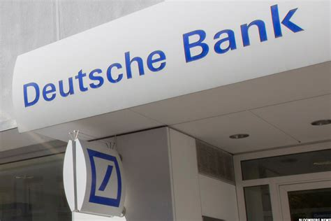deutscje bank deutsche bank db stock falls s p cuts credit outlook