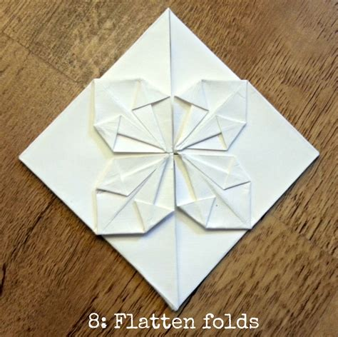 Origami Place Cards - wedding diy tutorial origami decorations place cards