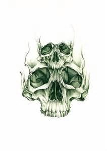 skull tattoo sketch best tattoo designs