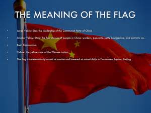 what do the colors on the flag china by markenzie johnson
