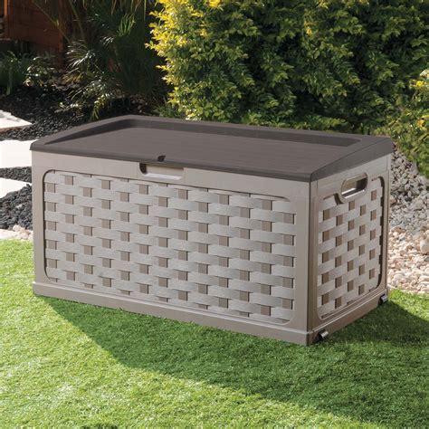 large cushions to sit on large garden storage box plastic cushion box shed sit on