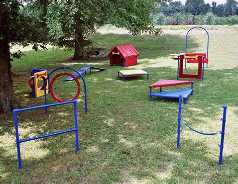 dog backyard play equipment dog parks korkat inc playground equipment and site