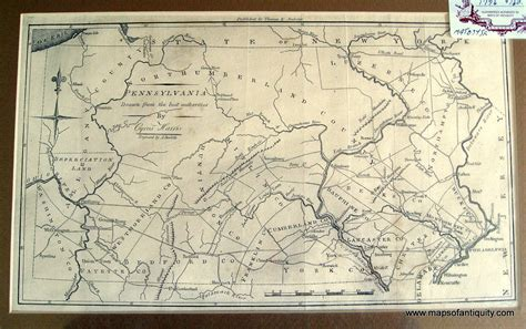 map of the united states pennsylvania pennsylvania drawn from the best authorities by cyrus