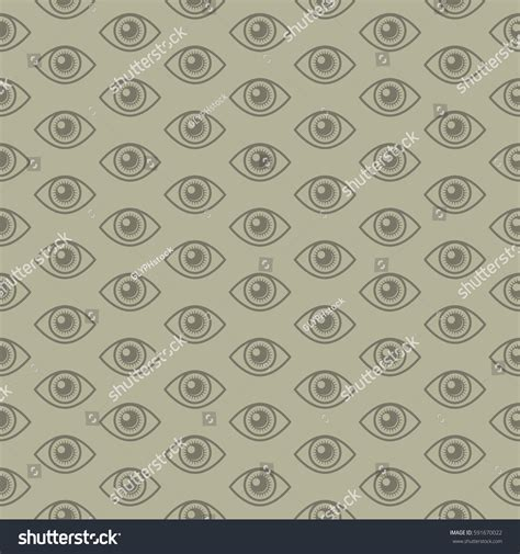 repeating pattern en français iconic all seeing eye symbol repeating stock vector