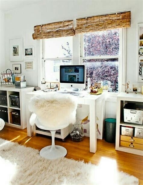 desk in front of window 32 inspiring boho chic home office design ideas interior god