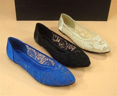 royal blue flat shoes lace ballet flat shoes royal blue lace shoes beige lace