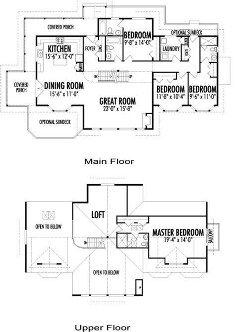 Post And Beam Floor Plans by Perthshire Family Custom Homes Post Beam Homes Cedar