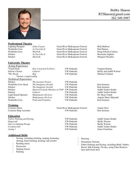 a resume format resume format