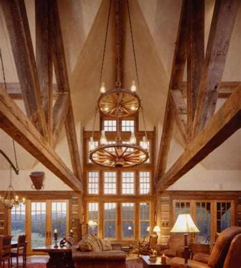 wagon wheel ceiling how to decorate with wagon wheels