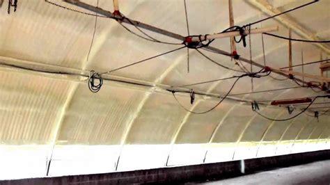 capannoni a tunnel poliuretano su capannone a tunnel