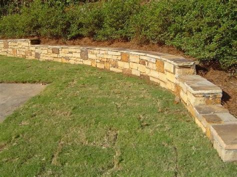 Low Rretainer Wall Low Retaining Wall Can Also Double As Small Garden Wall