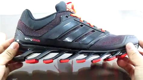 Hombres De Las Adidas Springblade 4 Zapatos Para Correr Gris Rosado Zapatos P 381 by Zapatillas Adidas 2017 Para Hombre