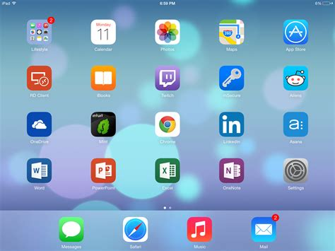 iphone desktop layout image gallery ipad home screen layout