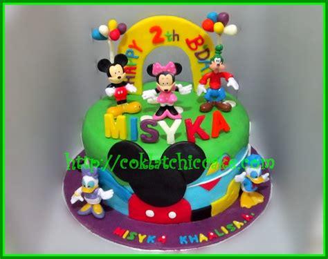 Cake Banner Mickey Mouse Miki Hiasan Ulang Tahun Kue Tar Anak cake mickey mouse clubhouse misyka jual kue ulang tahun