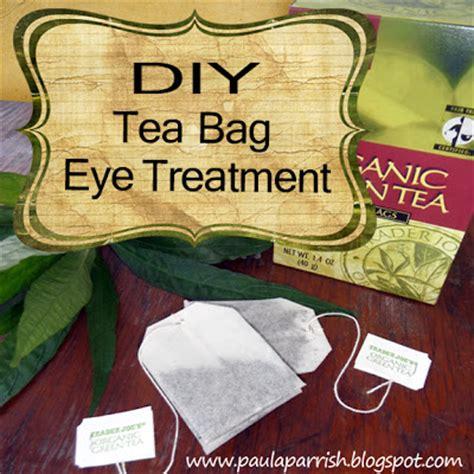 paula parrish diy tea bags eye treatment