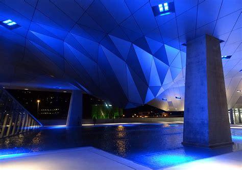 illuminazione urbana lione lyon confluences musee bassin luce e design