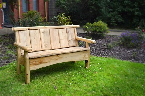 country benches country bench glasgow wood recycling