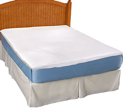 queen size bed topper bodipedic memory foam queen size mattress topper page 1 qvc com