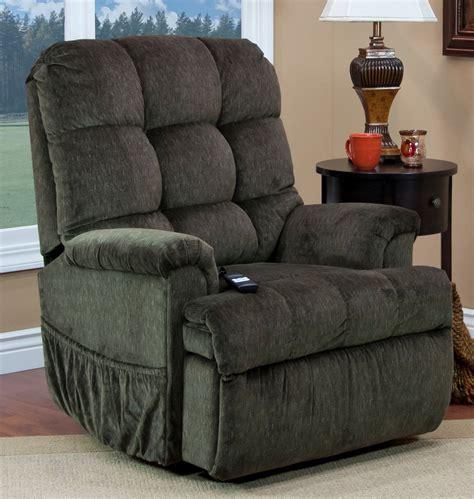 sleeper recliner lift chair cabo godiva tufted sleeper reclining lift chair from med