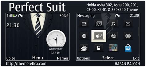 galaxy themes for nokia c3 perfect suit theme for nokia c3 x2 01 asha 200 201 302