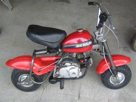 Honda Mini Motorcycle by 1970 Honda Qa50 Mini Bike Tar And Rubber