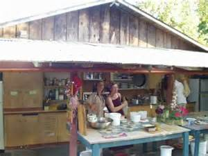 Farmhouse Kitchens Ideas Outdoor Kitchens At Permaculture Farms And Ecovillages