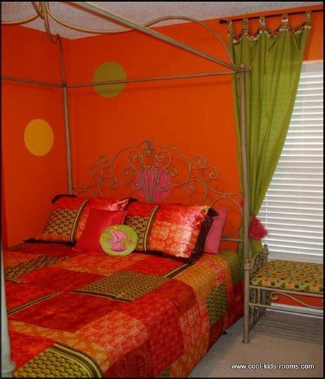 how to decorate an orange bedroom orange tween room