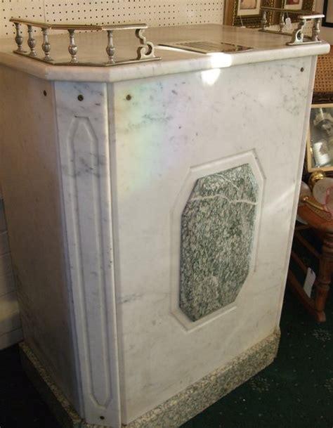 deco marble reception desk antiques atlas